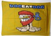 DogEatDog - 'No Fronts' Poster Flag